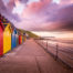 Whitby Beach Huts By Glenn Kilpatrick