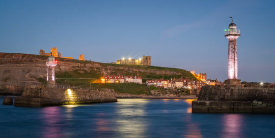 Whitby Harbour Entrance By Glenn Kilpatrick