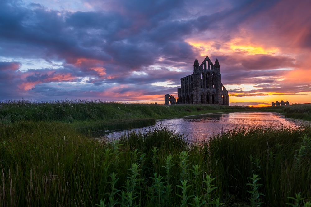 Whitby Abbey By Glenn Kilpatrick