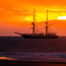 Tall Ship Stavros Anchored Off Whitby