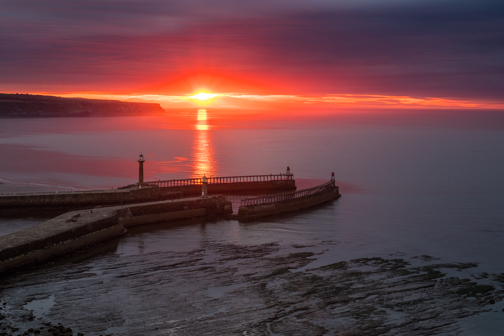 Whitby Harbour By Glenn Kilpatrick